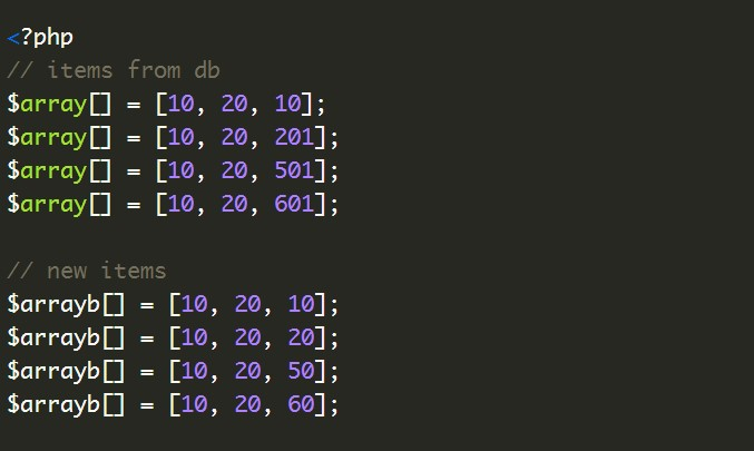 Check if two arrays are equal